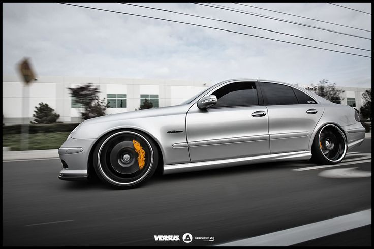 2009 mercedes e class amg lowered on 20s | Discussion: W211 E55 AMG: Dumpt and rollin