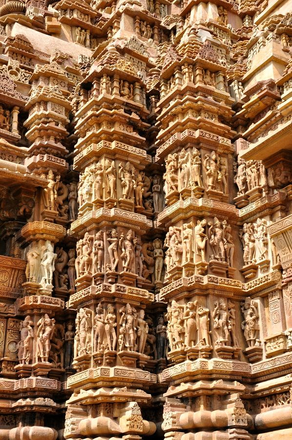 Pillars of kamasutra, India. It sure would make a nice sculptare.