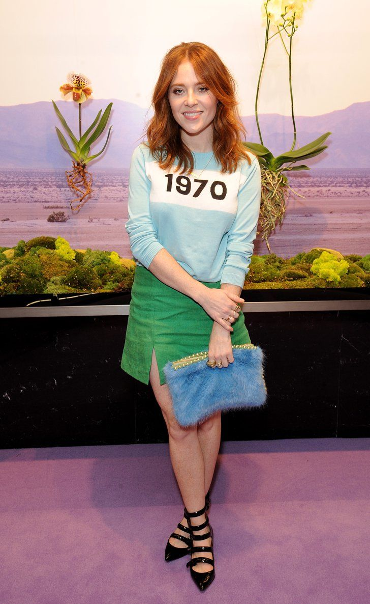 Whenever i come across a mismatched caption and picture i question - Angela Scanlon