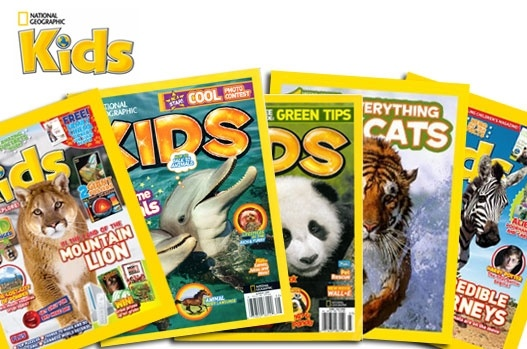Inspire your little explorers – 6 months subscription to National Geographic Kids, £9!: National Geographic Kids
