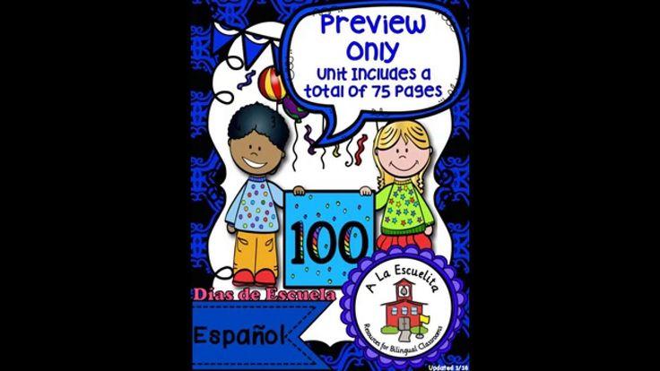 100 Dias de Escuela Video Preview