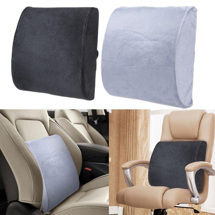 Haute Résilience Memory Foam Lombaire Coussin De Voiture Auto Back Support Chaise Coussin pour Home Office Soutien Lombaire Siège Chaise