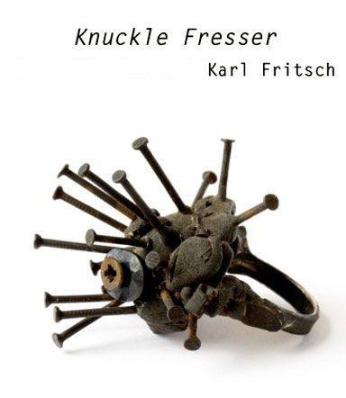 Karl Fritsch ring (jewelry with nails)
