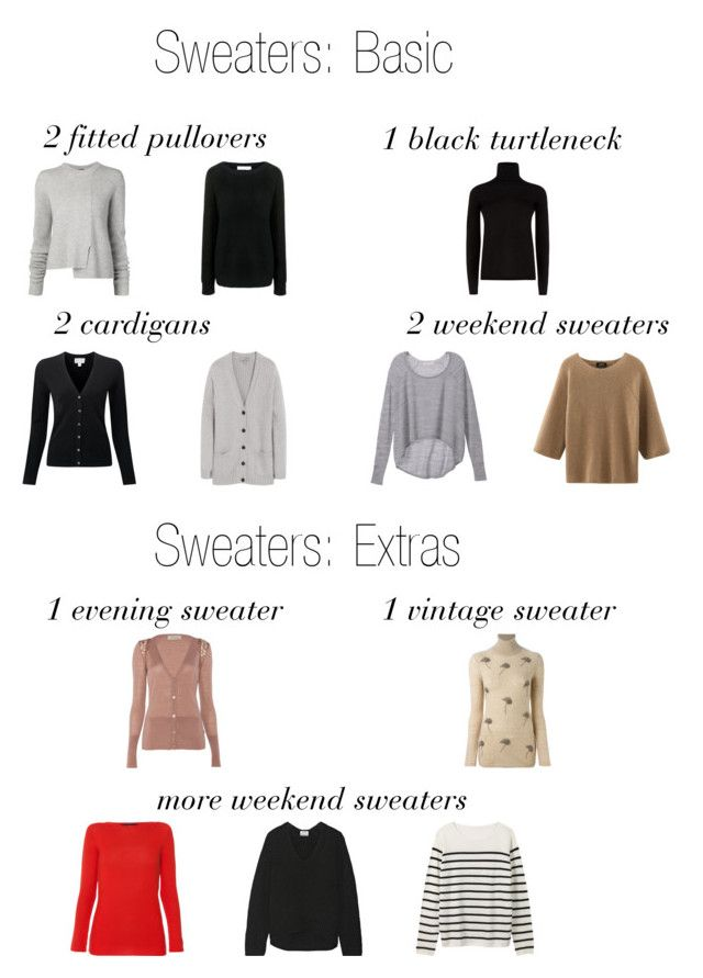Sweater Wardrobe by thecapsuleproject on Polyvore featuring Les Copains, Acne Studios, MaxMara, Victoria's Secret, Proenza Schouler, Mulberry, Finders Keepers, Temperley London and N°21