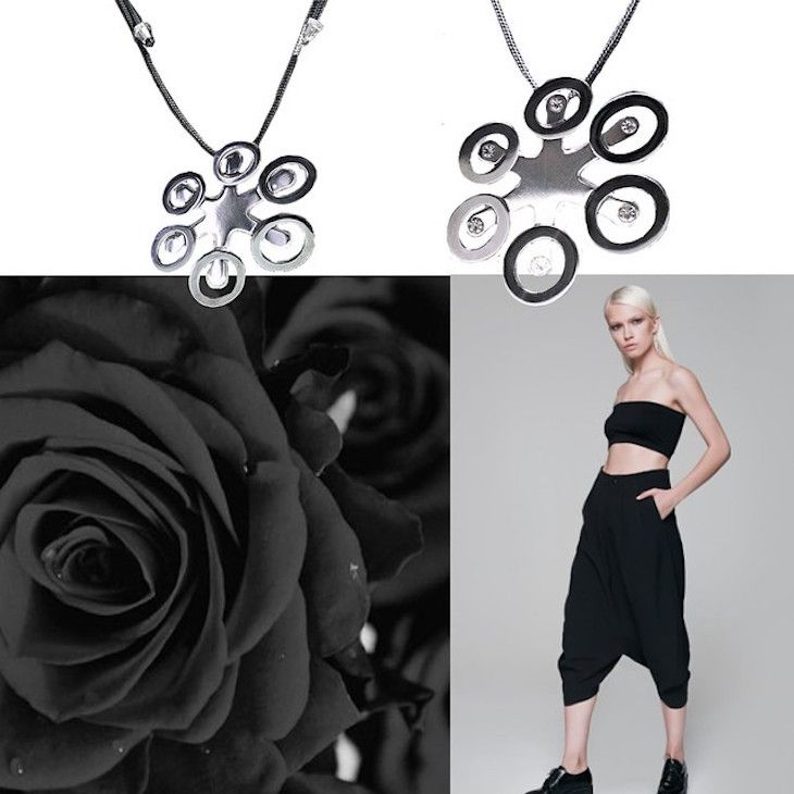 #collage #blackandwhite #cool #minimal #jewels