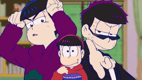 Karamatsu,Osomatsu & Ichimatsu