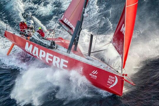A selection of the 10 most beautiful moments of the Volvo Ocean 65 battling the waves around the world