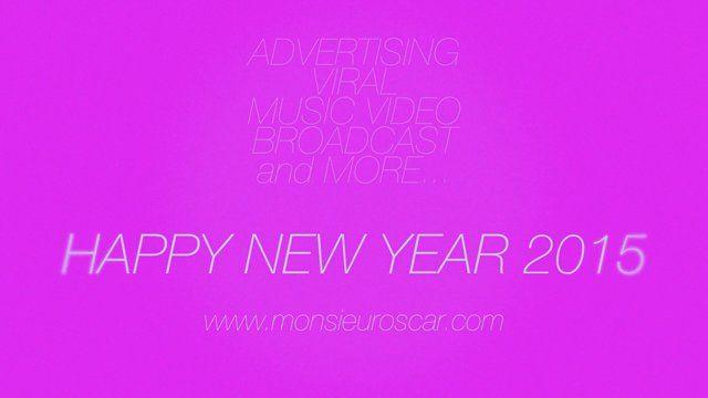 Happy New year 2015 by Monsieur Oscar