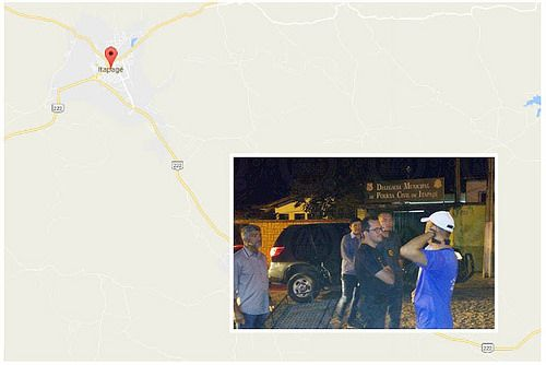 Secretário de segurança encontra delegacia fechada durante visita na cidade de Itapajé-CE: ift.tt/2kgxZlS