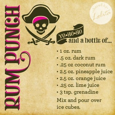 Rum Punch by Lolita | Recipes | Pinterest | Rum Punches, Rum and Punch