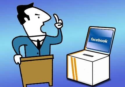 La creciente importancia de Facebook y las redes sociales en el marketing político.