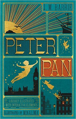 Peter Pan: Amazon.co.uk: J. M. Barrie, Minalima Ltd.: 9780062362223: Books