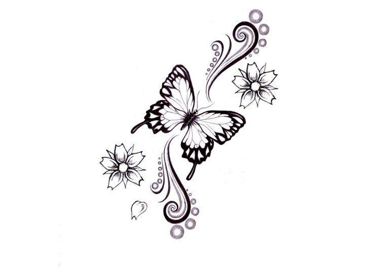 idée sympa pour un tatouage papillon