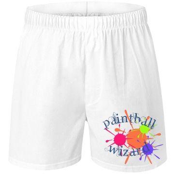 Paintball Wizard Unisex Boxercraft Cotton Boxer Shorts Underwear