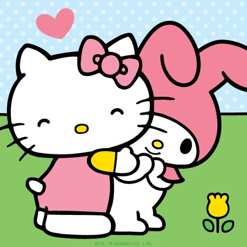 Hello Kitty and My Melody :)