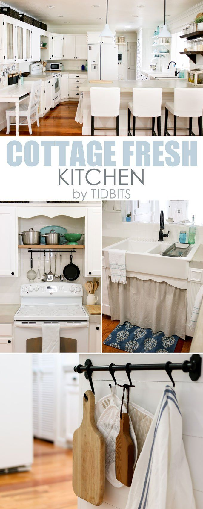 159 best ROOMS - Kitchen images on Pinterest | Kitchens, Before ...