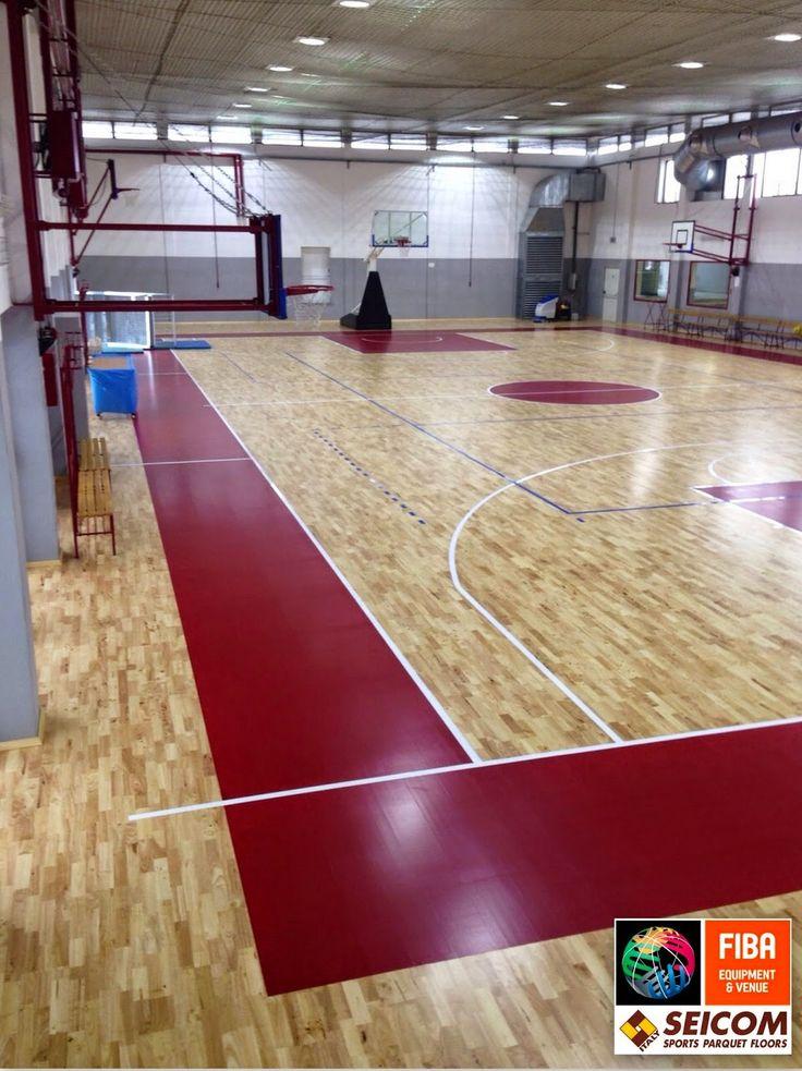 SEICOM Parquet per palestre e pavimentazione per palestre elastiche multi-sport omologati FIBA: PAVIMENTAZIONE PER PALESTRE IN PARQUET REALLIZATE ...
