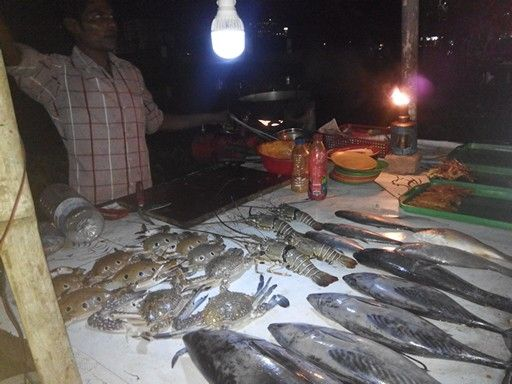 Fish on the street, Cox's Bazar - Bangladesh