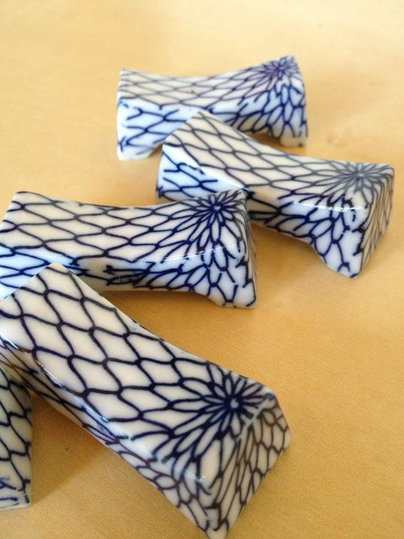 Classic Japanese blue & white ceramic intricate by japanorama