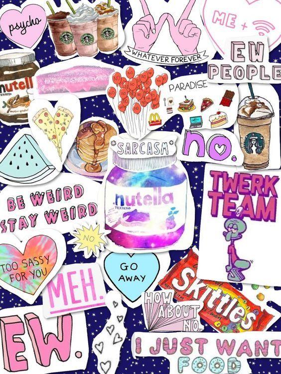 Wallpapers de colagens super Tumblr | MariMoon