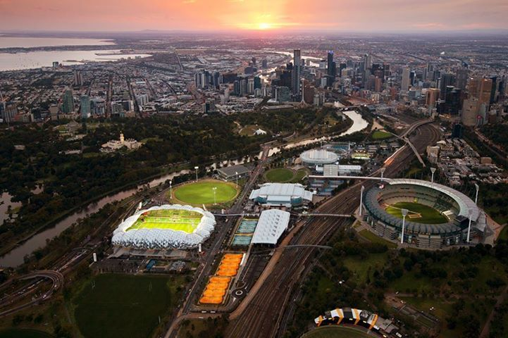 Beautiful Melbourne Image by Peter Glenane