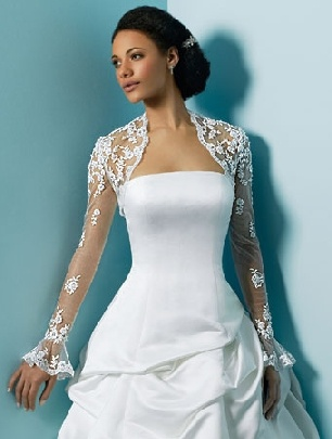 Wedding Gown Jacket