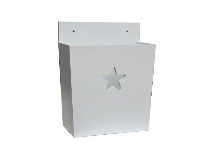 """Vägghylla """"Sjärna"""" 30x14x37 cm (rek.pris 590 kr) / Stjärnlådor - förvaring"""