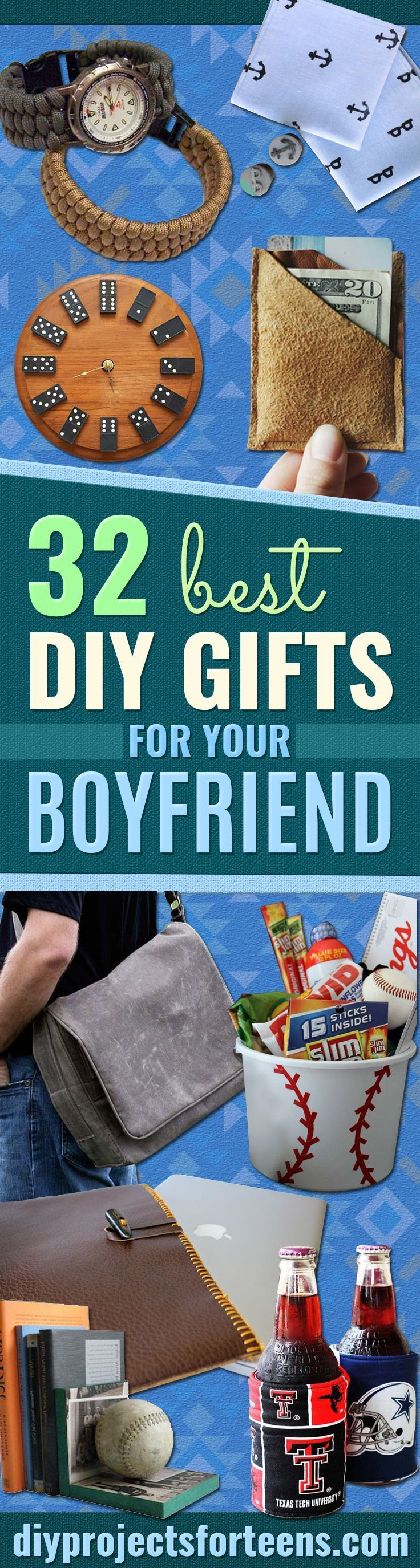 Cool DIY Gifts to Make For Your Boyfriend - Easy, Cheap and Awesome Gift Ideas to Make for Guys - Fun Crafts and Presents to Give to Boyfriends - Men Love These Gift Card Holders, Mason Jar Kits, Thoughtful Handmade Christmas Gifts - DIY Projects for Teens http://diyprojectsforteens.com/diy-gifts-boyfriend