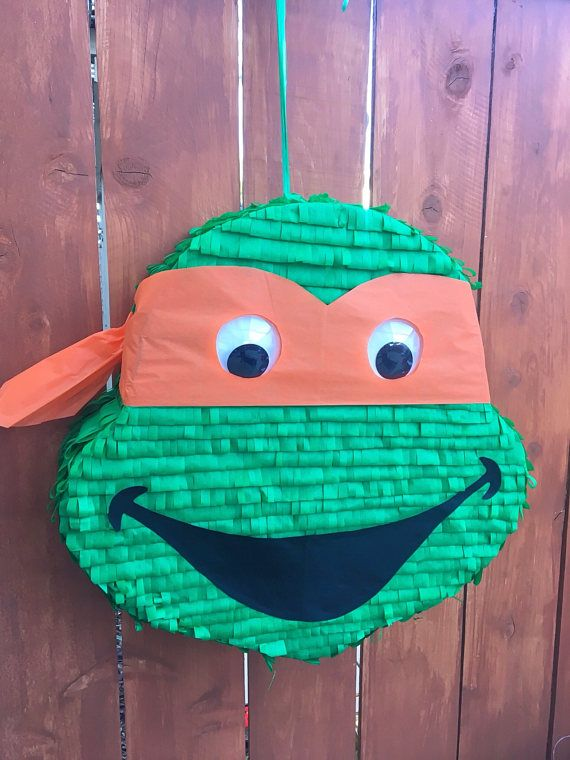 Piñata TMNT Teenage Mutant Ninja Turtle Piñata
