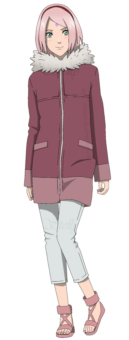 Sakura Haruno - the last - winter version by DennisStelly on DeviantArt