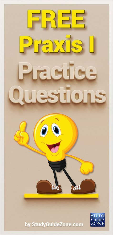 Get free Praxis I practice questions and study tips to help you prep for the Praxis I test. #praxistest #praxisprep