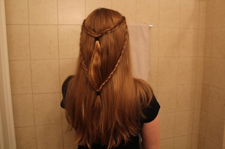 Daenerys Targaryen Khalasar braids.: Hair Styles, Celtics Braids, Challenging Hairstyles, Hairstyle Tutorials, Gorgeous Hairstyles, Thrones Hairstyles, Hair Braids, Celtic Hairstyles, Celtic Braids