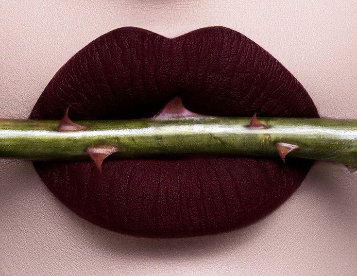 Dose of Colors Matte Lipstick - Black Rose Limited Edition