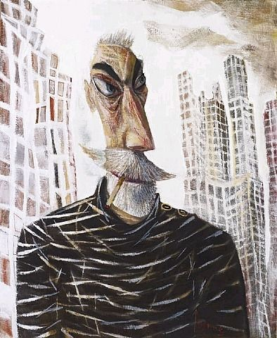 JOHN BYRNE NY Self-Portrait (2012)