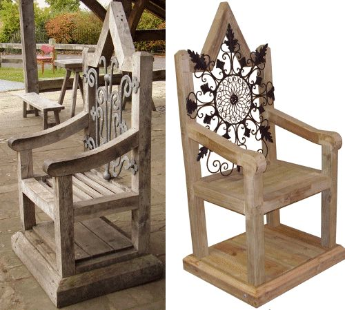 1000 ideas about king chair on pinterest throne chair for Throne chair plans