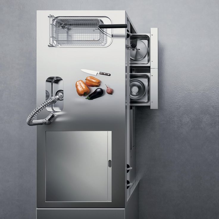 EvoFull offers you ample freedom of configuration to better meet your needs of style and creativity by combining efficiency and ergonomics. #Silko #professionalkitchen