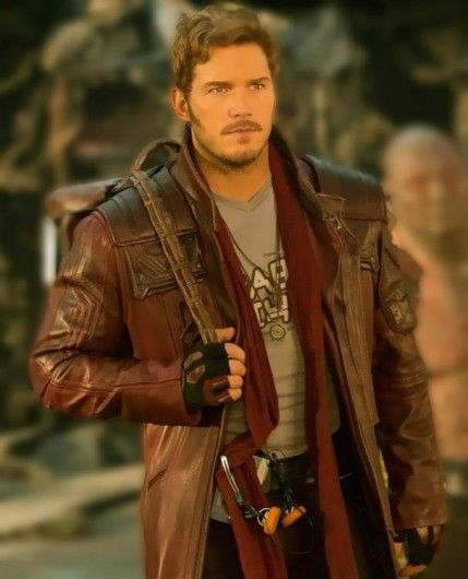 Star Lord Coat from Movie Guardians Of The Galaxy 2