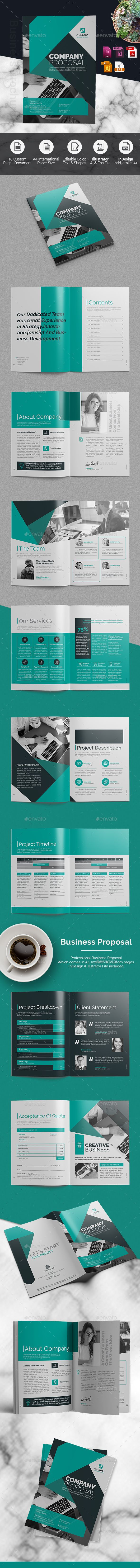 Business Proposal — Vector EPS #brochure design #minimal • Download ➝ https://graphicriver.net/item/business-proposal/20166674?ref=pxcr