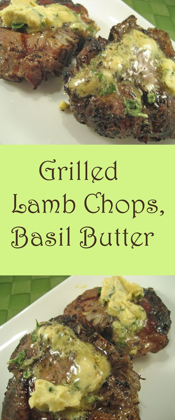 Lamb Chops With Lemon, Thyme And Mustard Butter Recipe — Dishmaps