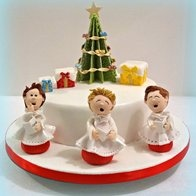 Choir Boys: Choirs, Christmas Cakes, Cake Design, Two People, Boy Cakes, Cake Ideas, Awesome Cakes