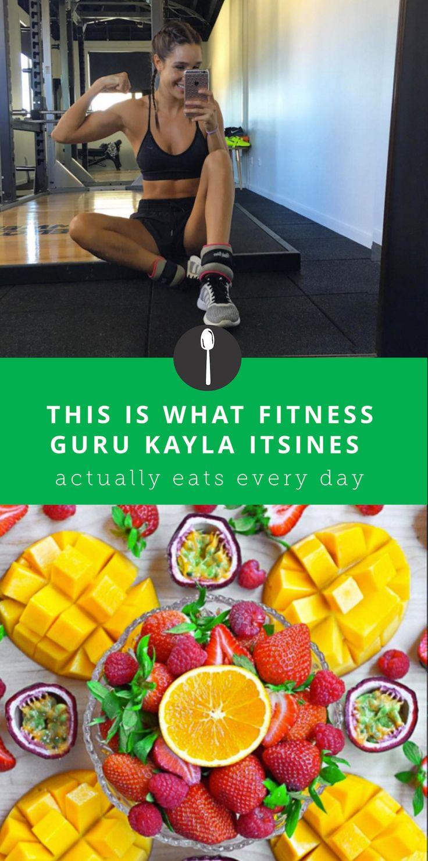 What Fitness Guru Kayla Itsines Actually Eats Everyday
