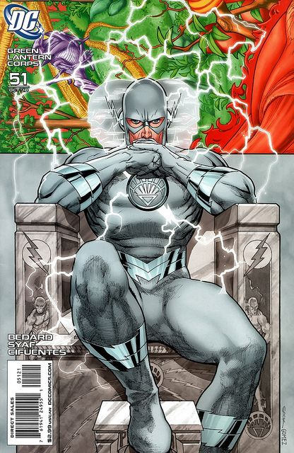 White Lantern Professor Zoom/ Reverse Flash (variant cover for Green Lantern…