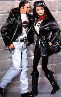 Best Harley Davidson Toys- Mattel Barbie and Ken Dolls - Harley Davidson
