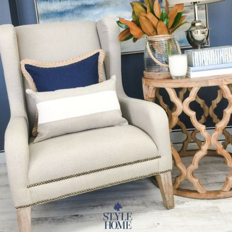 'Francis' Luxury Upholstered Armchair