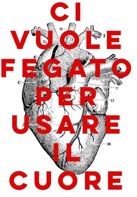 Claudio Amadei: Ci vuole fegato per usare il cuore