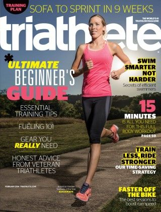 Sneak Peek: Triathlete Magazine's February 2014 Issue - Look for the article about SwimLabs!