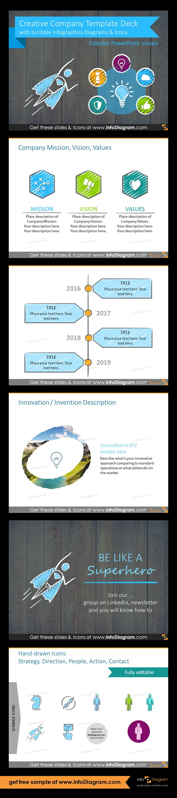 Best 25 powerpoint timeline slide ideas on pinterest this ppt deck includes the best presentation layout examples we also apply in our slide design projects vision mission and values template alramifo Image collections
