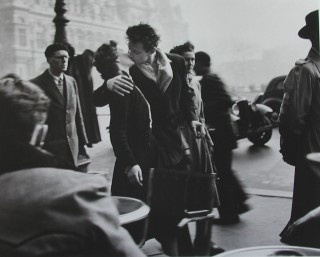 """robert doisneau....always loved this....was on my wall for years... """"if life was a postcard i'd live in this one."""""""