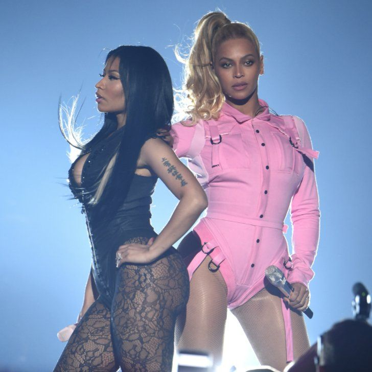 """This Is What Happens When Beyoncé and Nicki Minaj Decide to """"Ice Grill"""" Each Other"""