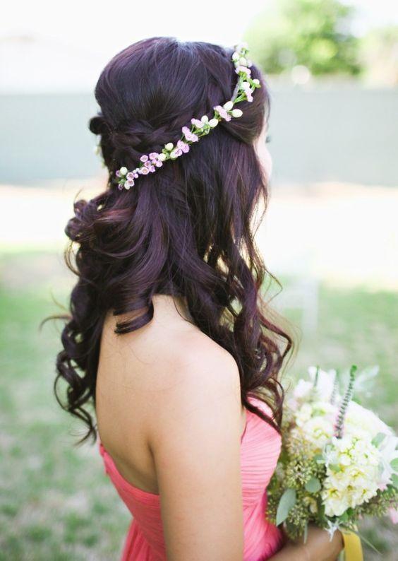 Featured Photographer: Adrienne Gunde Photography; Wedding hairstyle idea.